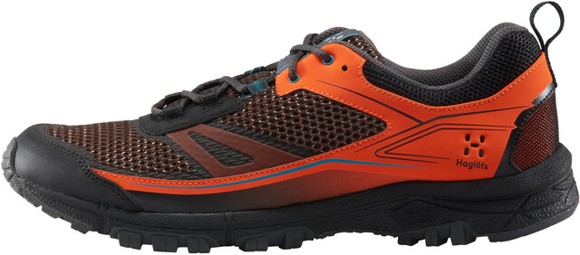 Haglöfs Gram Trail Shoes Herre cayennetrue black | Gode